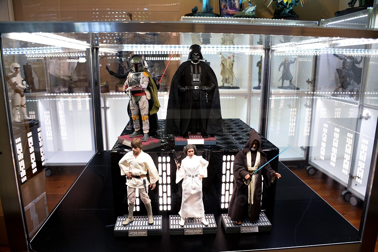 Star Wars Acrylic Display Case  VkRbN8