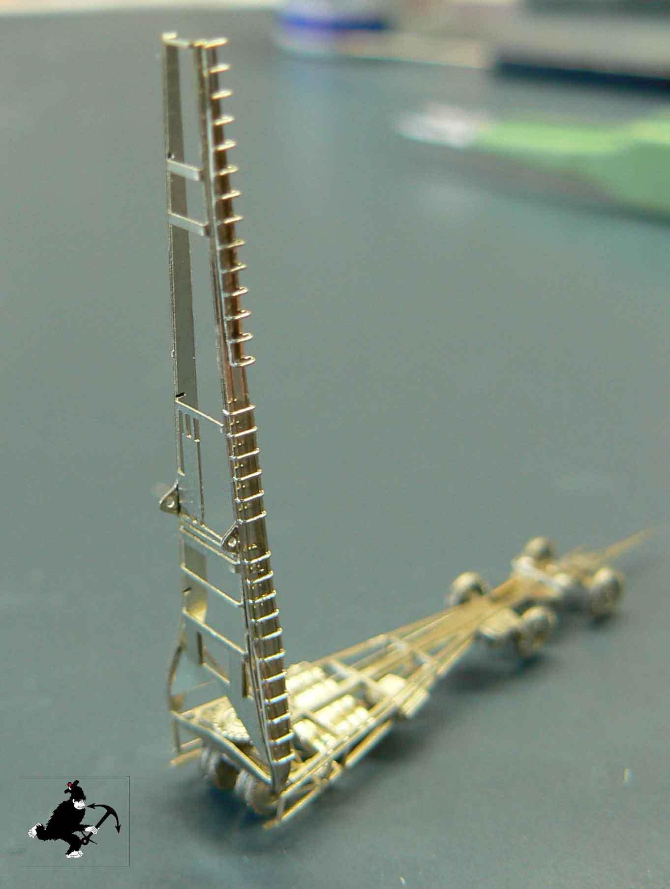 Fusée V2 - A4 au 1/350° FJThjS