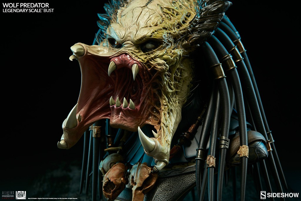 Alien vs Predator - Requiem : Wolf Predator Legendary Scale Bust M9zEsD