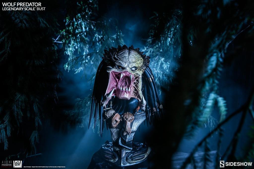 Alien vs Predator - Requiem : Wolf Predator Legendary Scale Bust RVdez0