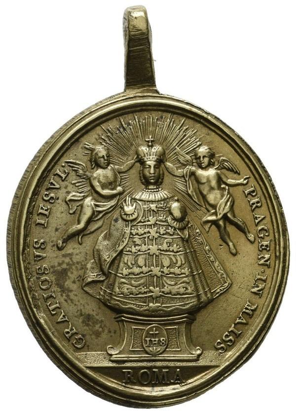 Niño Jesús de Praga / Santa Teresa de Jesús - MR622 (R.M. SXVIII-C158) RWOaMR
