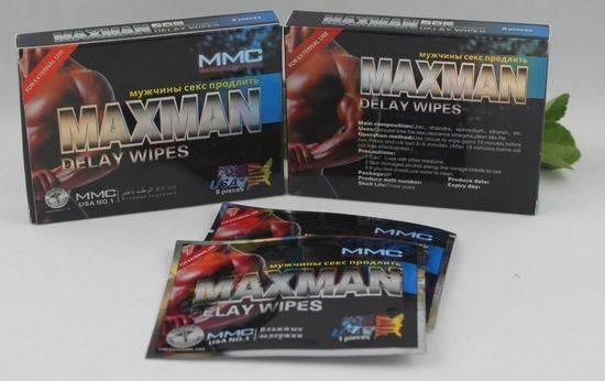 MAXMAN Delay Wipes | www.batinmalaysia.com UeFU7f