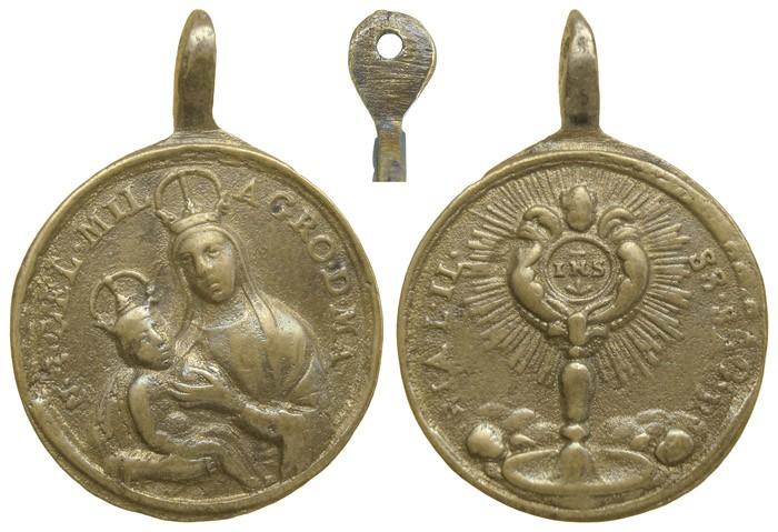Nuestra Señora del Milagro / Santísimo Sacramento - MR646 (R.M. SXVIII-C162) (MAM) W9YuJe