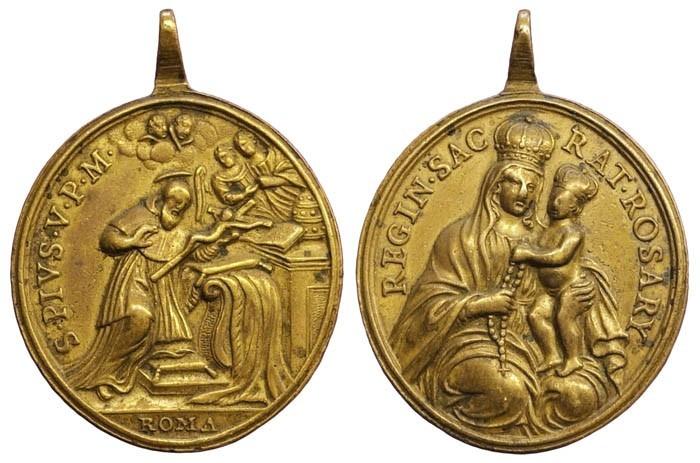Santo Tomás de Aquino / Virgen del Rosario (R.M. SXVIII-C131) 3Koudg