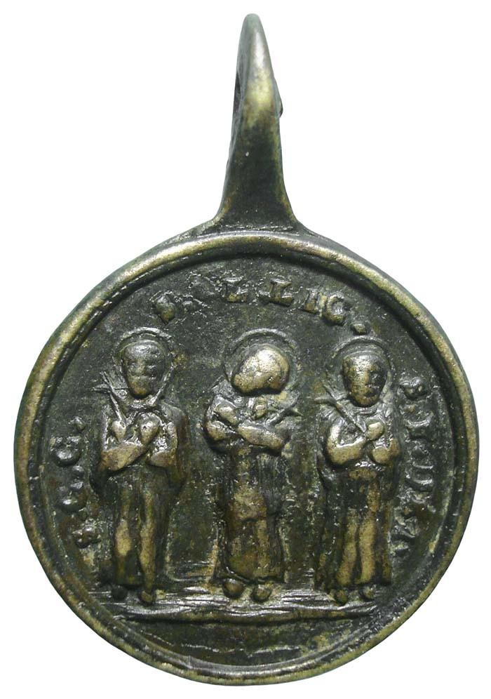 Cinco santos canonizados en 1839  - DI032 - (R.M. SXIX-C27 ) 5R4otn
