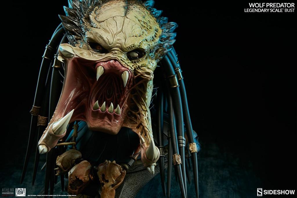 Alien vs Predator - Requiem : Wolf Predator Legendary Scale Bust 81Jf4l