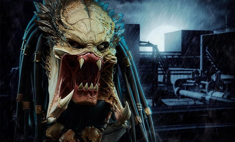 Alien vs Predator - Requiem : Wolf Predator Legendary Scale Bust 8b6F7J