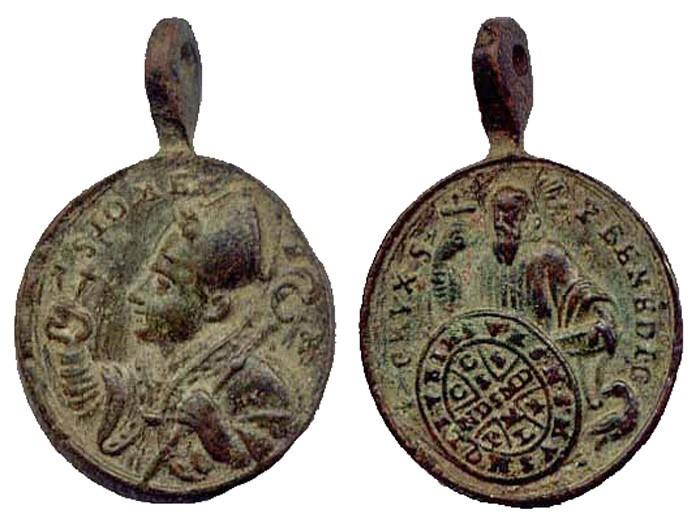 Medaille St Jean-Marc de Braga. XVIIIème ES5Kun