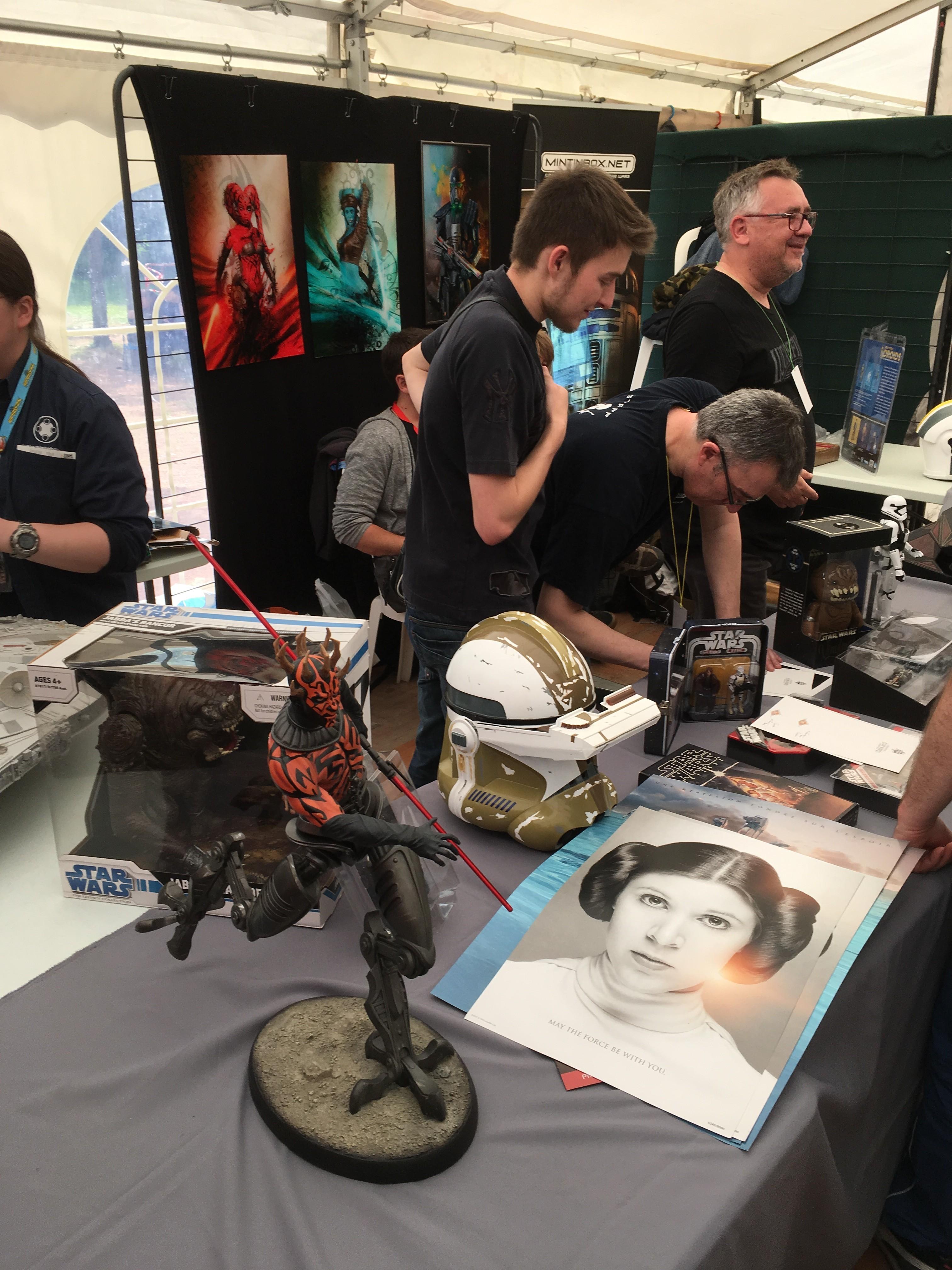 Générations Star Wars et SF 20ème édition - Cusset - 28 et 29 avril 2018 EdjzWJ
