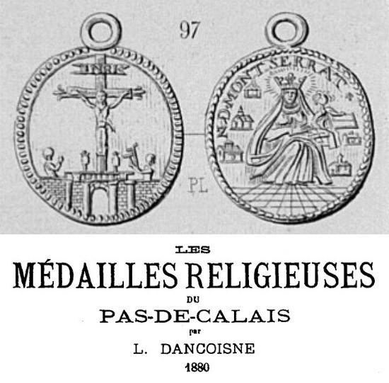 Calvario de Arrás /Virgen de Montserrat - MR593 (R.M. SXVIII-O395) HGd7q6