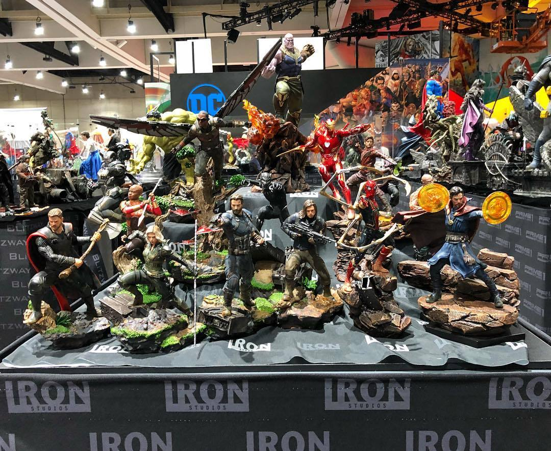 SDCC 2018 : Iron Studios KWaAKF