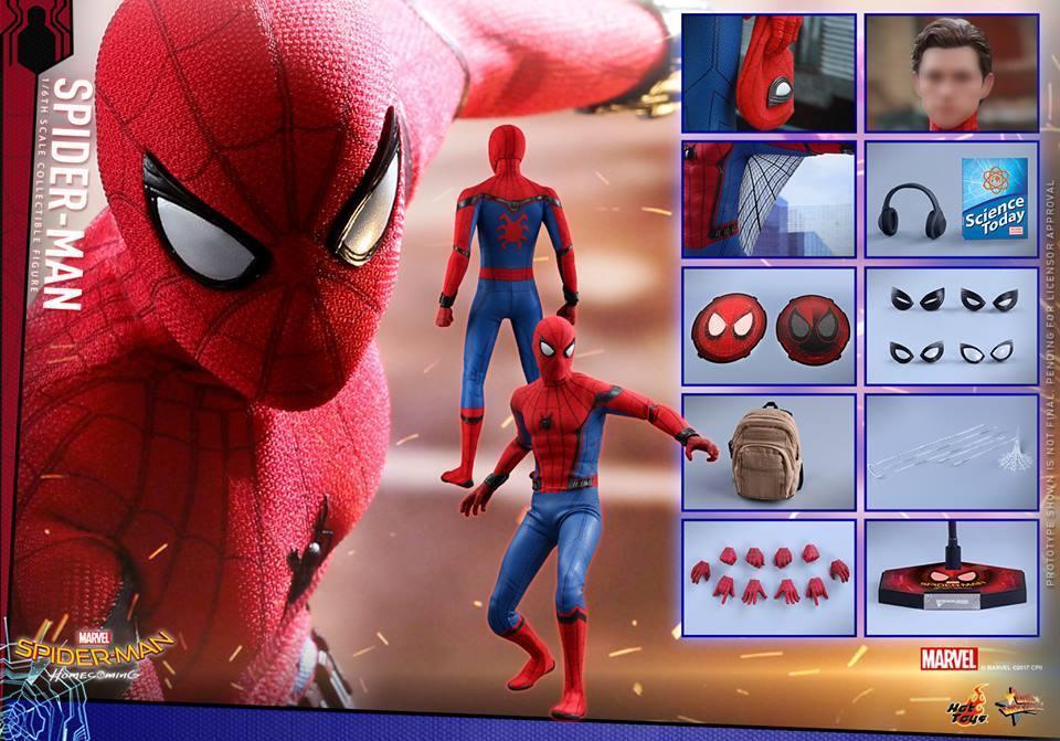 Spider-Man Homecoming : Spider-Man  LHDVPR