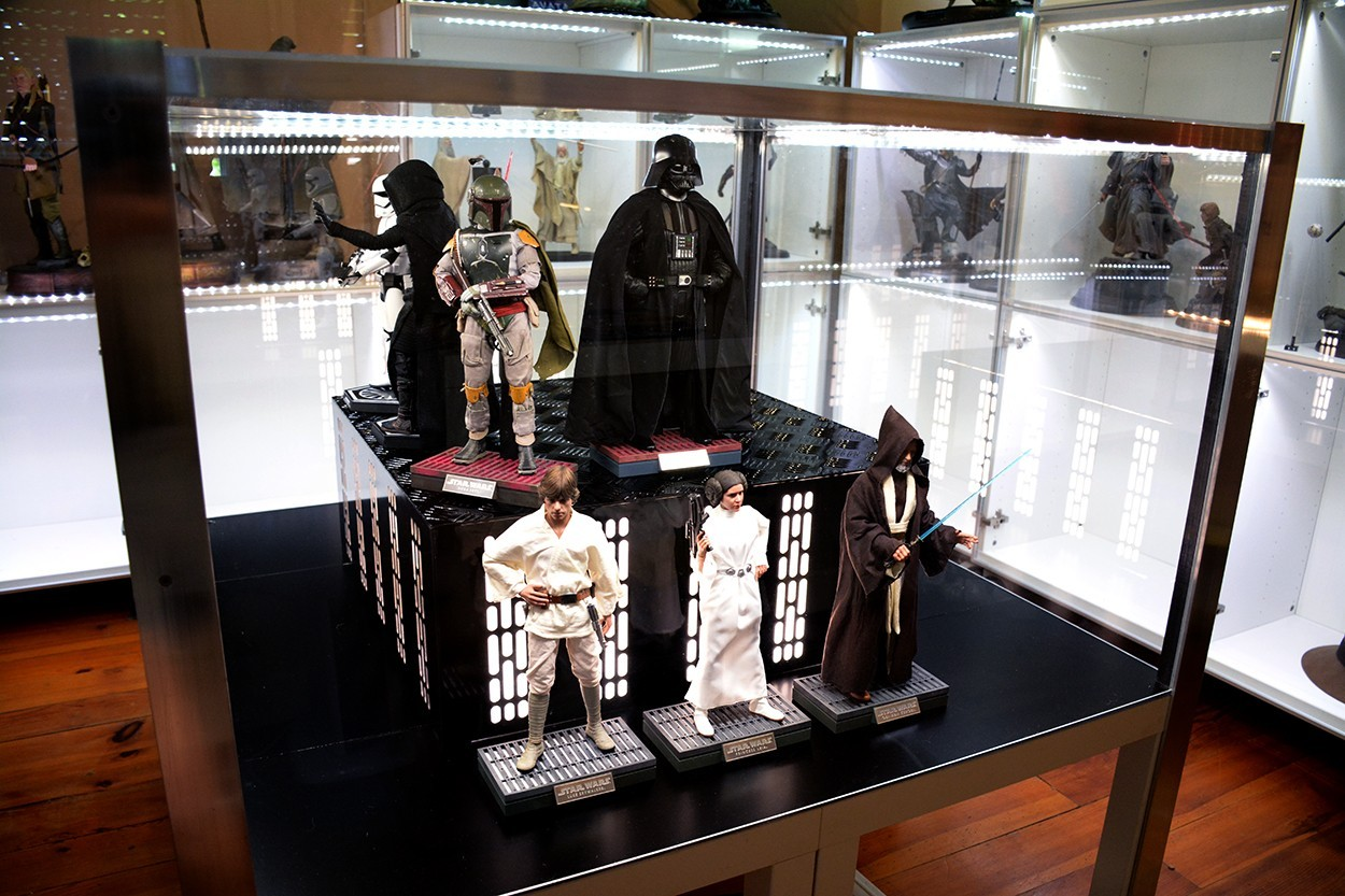 Star Wars Acrylic Display Case  Lhw1qS