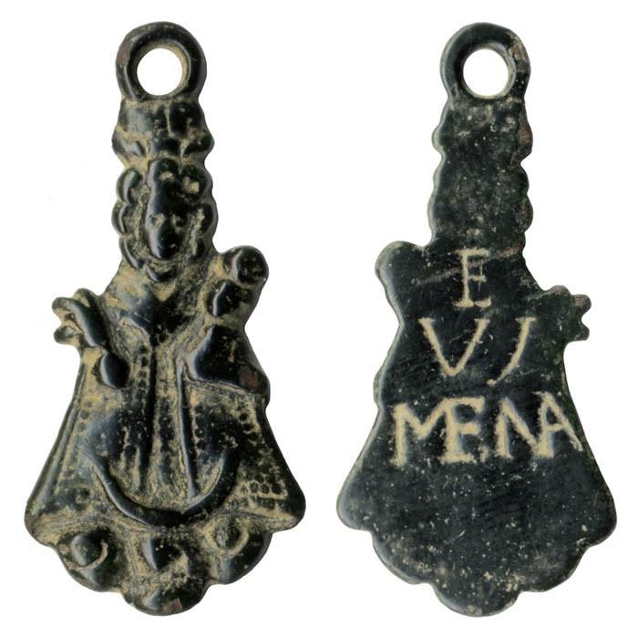 Medalla figurada de la Virgen de Valdejimena - MR(002) (R.M. PFV Valdejimena 1) Mm62A9