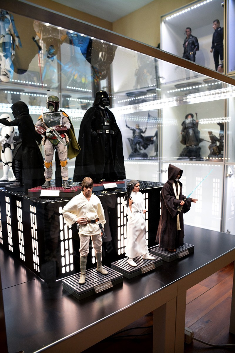 Star Wars Acrylic Display Case  NHE1sp