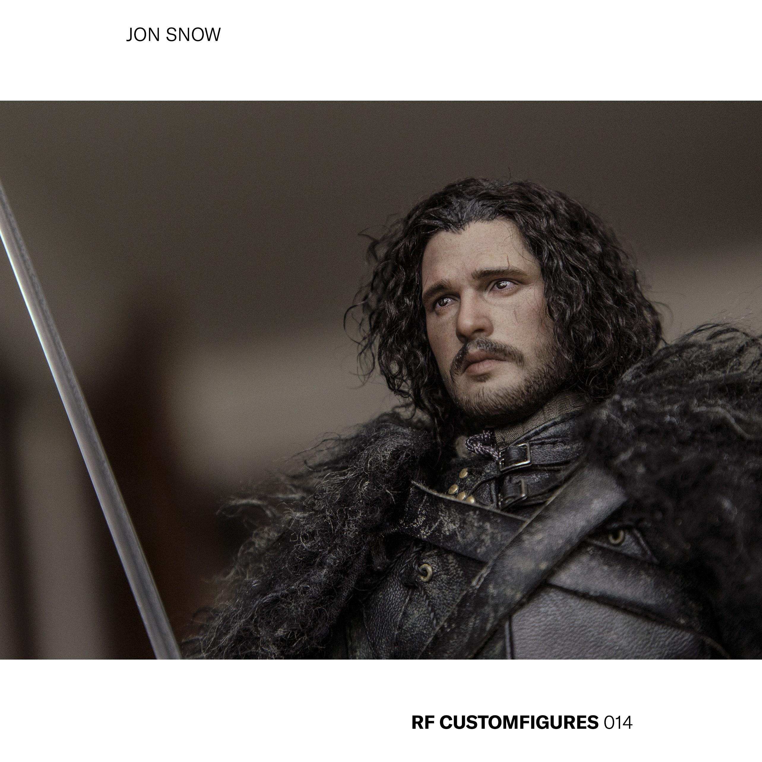 "fantasy - NEW PRODUCT: ThreeZero: 1/6 ""Song of Ice and Fire - Game of Thrones"" - Jon Snow / Jon Snow 2.0 QA6Z0X"