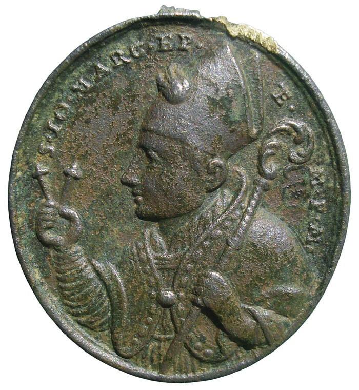 Medalla de San Juan Marcos  / S. Benito - s. XVIII - Página 2 RvkgHa