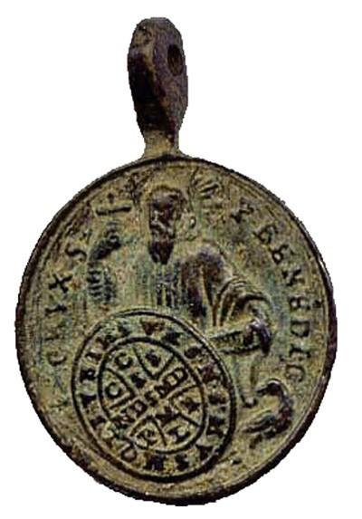 Medaille St Jean-Marc de Braga. XVIIIème SjR71C