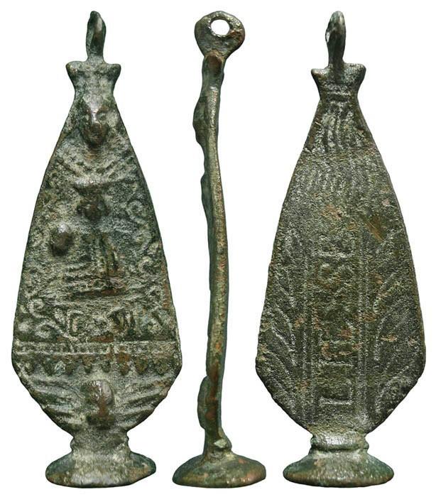 Médaille Notre-Dame de Liesse  Datation: XVII/XVIIIème U46aNi