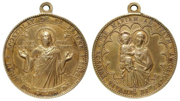 Medalla del Apostolado de la Oración - DI031 ZkgFzK