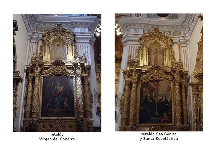 Santa Escolástica / Nuestra Señora del Socorro - MR490 (R.M. SXVIII-O306) ATmezI