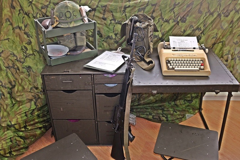 M1952 field desk. NASowm