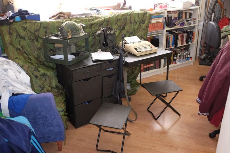 M1952 field desk. RcFLfi