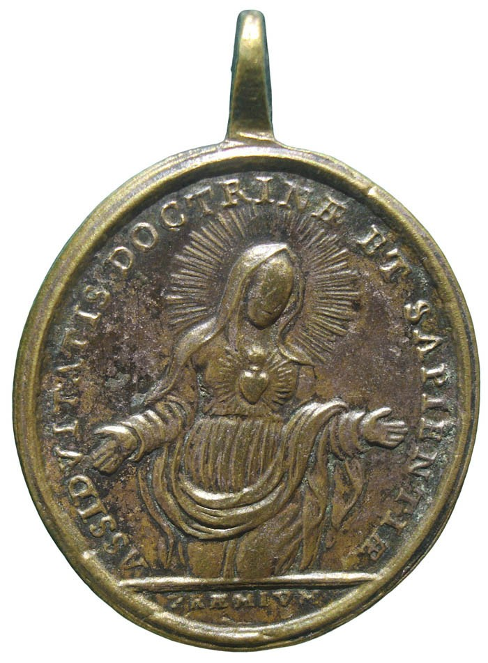 Sagrado Corazón de Jesús / Inmaculado Corazón de María - MR663 (R.M. SXVIII-O417) TZ0yRn