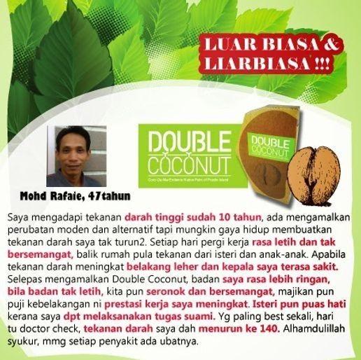 Double Coconut Original Murah | 100% Original Dgn Harga Prom WmoYKj