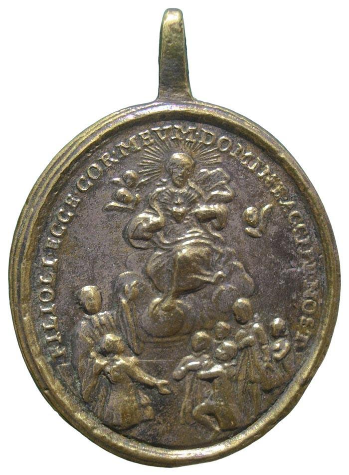 Sagrado Corazón de Jesús / Inmaculado Corazón de María - MR663 (R.M. SXVIII-O417) XodTyt