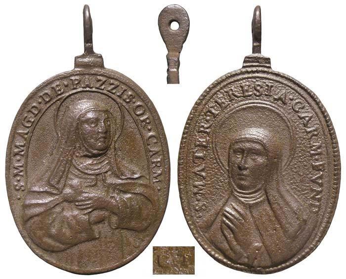 Santa María Magdalena de Pazzi / Santa Teresa de Jesús - MR560- (R.M.SXVII-O447)  Xy8l4c