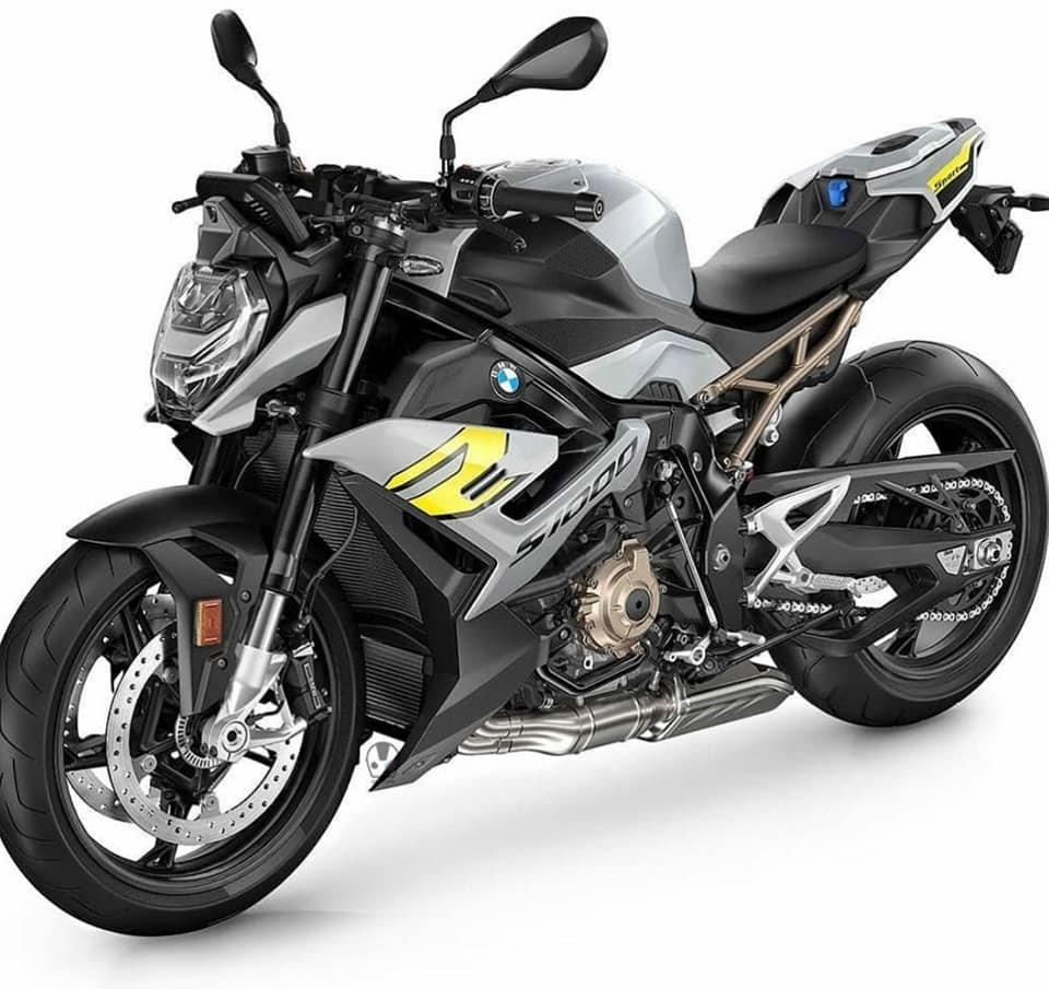 Photo officielle de la nouvelle S1000R 2021