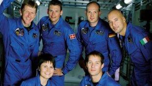 Les astronautes européens
