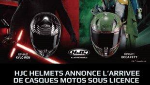 HJC HELMETS ANNONCE L'ARRIVEE DE CASQUES MOTOS SOUS LICENCE OFFICIELLE STAR WARS