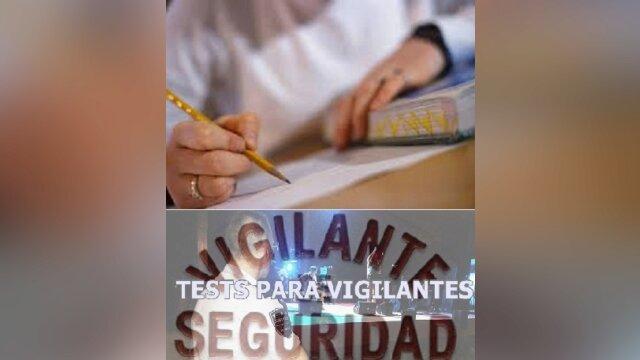 Recomendaciones para los que se van a presentar a examen de vigilantes de seguri
