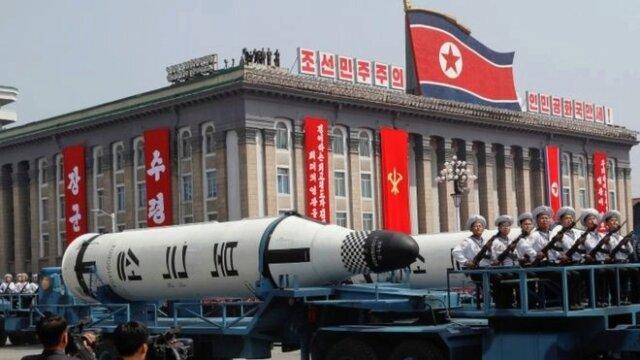 Respuesta de Corea del Norte a los ataques de EEUU.