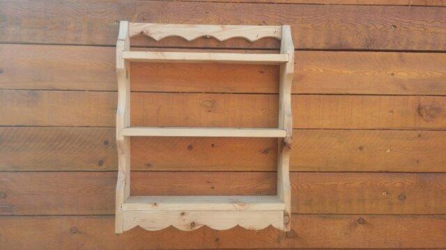 Main photo mes réalisations en bois