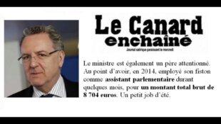 Richard Ferrand a employé son fils à l'Assemblée pour 8704€