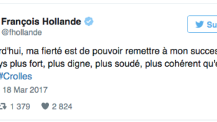 L'AUTO-SATISFACTION DE FRANCOIS HOLLANDE