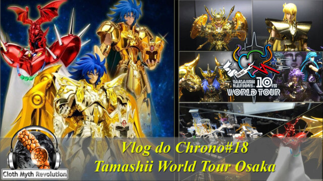 Main photo Vlog do Chrono #18 - Tamashii Tour Osaka