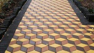 Тротуарная плитка - правила укладки
