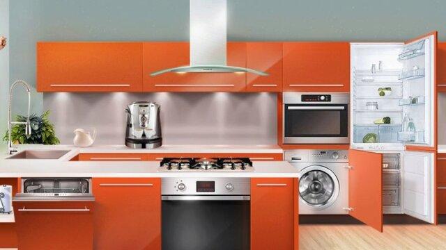Main photo Кухня: особенности размещения встроенной техники