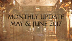 Welcome!   Monthly Update, May and June 2017