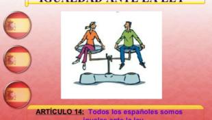 ¡Todos los españoles somos iguales! ¡Españoles!