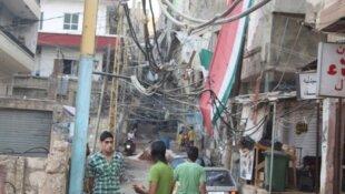 المخيمات الفلسطينية بلبنان