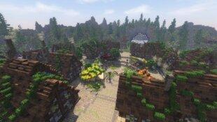 Federion Minecraft : Les villes