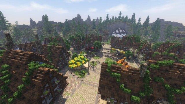 Main photo Federion Minecraft : Les villes