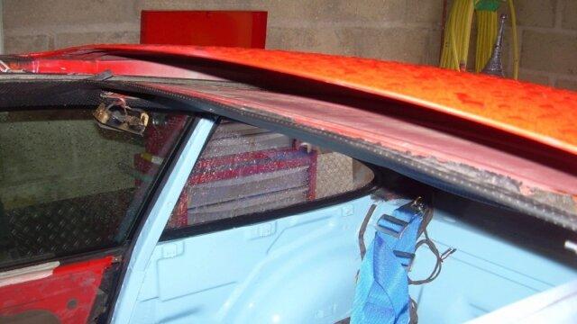 Dépose toit ouvrant sur Porsche 964