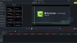 تحميل برنامج camtasia studio 9 افضل برنامج مجاني لتسجيل الشاشه بجوده 4k