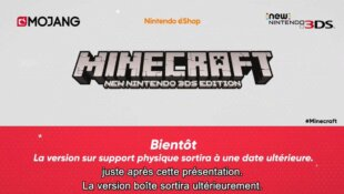 Minecraft sur New 3DS !